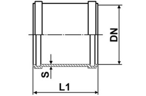 Схема муфты ПВХ Муфта ПВХ Муфта ПВХ mufta pvh shema 300x199