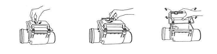 Техническое обслуживание обратного клапана ПВХ
